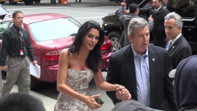 angie harmon at the 2013 tbs-tnt upfront presentation after-party in new york, ny, on 5/15/13. - angie harmon stock videos & royalty-free footage