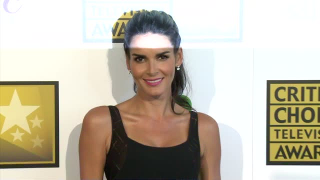 angie harmon at the 2014 critics' choice television awards at the beverly hilton hotel on june 19, 2014 in beverly hills, california. - angie harmon stock videos & royalty-free footage