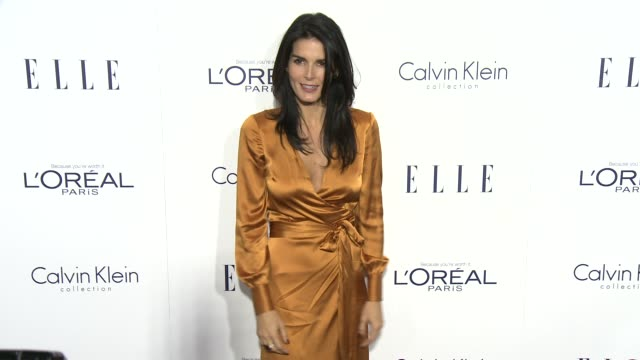 angie harmon at the 2015 elle women in hollywood awards at four seasons hotel los angeles at beverly hills on october 19, 2015 in los angeles,... - angie harmon stock videos & royalty-free footage