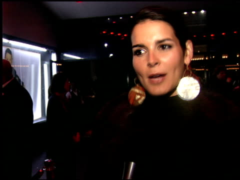 vídeos de stock, filmes e b-roll de angie harmon at the billy crystal 700 sundays at wilshire theatre in beverly hills california on january 12 2006 - billy crystal