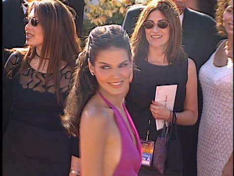 angie harmon at the emmys 2000 at shrine los angeles in los angeles ca - angie harmon stock videos & royalty-free footage