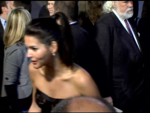 angie harmon at the 'fun with dick and jane' premiere at the mann village theatre in westwood, california on december 14, 2005. - angie harmon stock videos & royalty-free footage