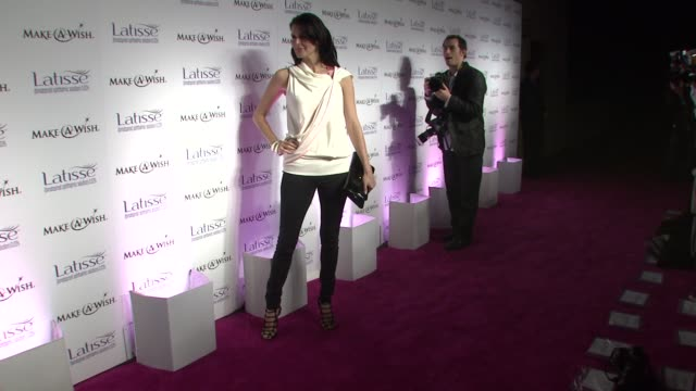 angie harmon at the launch party for latisse at los angeles ca. - angie harmon stock videos & royalty-free footage