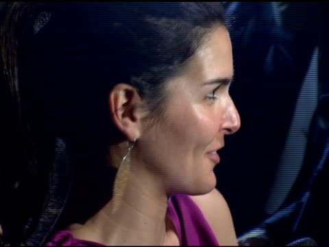 angie harmon at the olympus fashion week fall 2006 mac chinese dress party inside at eyebeam in new york, new york on february 2, 2006. - angie harmon stock videos & royalty-free footage