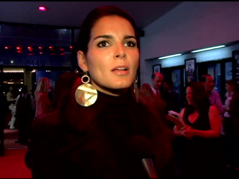 angie harmon on preparing to cry, being easy to laugh and on why she loves billy crystal at the los angeles opening night of the tony award winning... - angie harmon stock videos & royalty-free footage