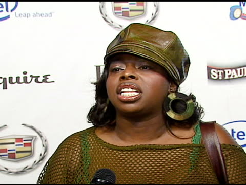 angie stone on vh1 save the music on music being important to her at the vh1's big night for a big cause a benefit for the vh1 save the music... - vh1 stock-videos und b-roll-filmmaterial