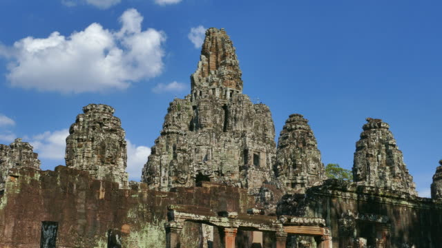 Angkor Bayon Temple at Angkor Thom in Cambodia