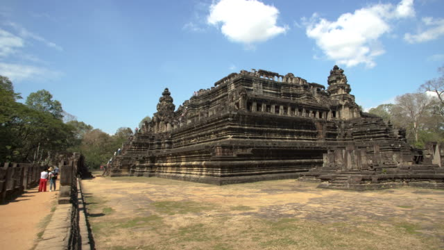 angkor wat - baphuon temple - angkor wat stock videos and b-roll footage