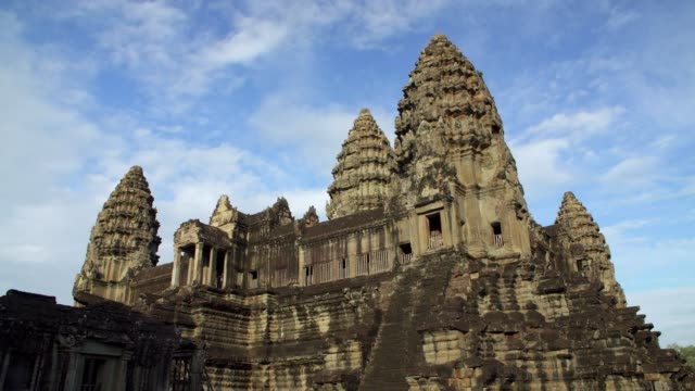 angkor wat temple cambodia - buddha stock videos & royalty-free footage