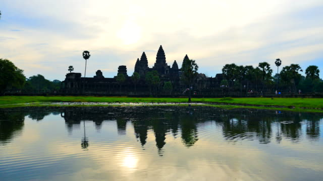 angkor wat - cambodian culture stock videos and b-roll footage