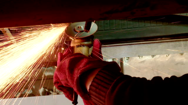 angle grinder - hand saw stock videos and b-roll footage
