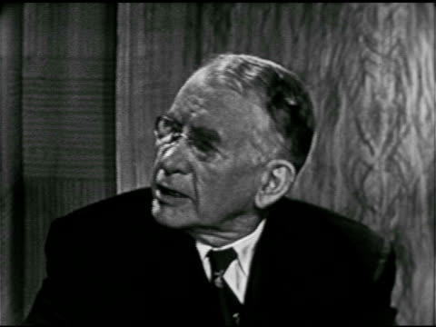 angled ws candidates anchor david brinkley sot on civil rights amp senate filibuster ms vice president alben barkley saying against filibusters... - alben w. barkley stock videos and b-roll footage