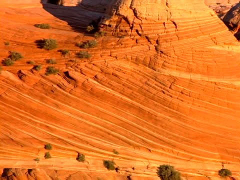 angled strata and knobby tops - rock strata stock videos & royalty-free footage