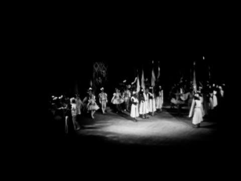 angled ukrainian theatre of opera and ballet. vs ballet dance in progress w/ prima ballerina vasilyeva featured dancing. t.g. taras shevchenko... - former soviet union stock videos & royalty-free footage