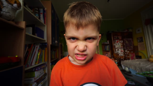 angry boy - displeased stock videos and b-roll footage