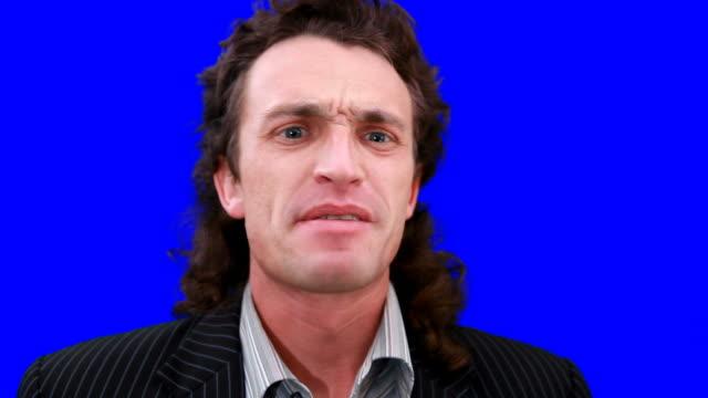 stockvideo's en b-roll-footage met angry businessman - woede