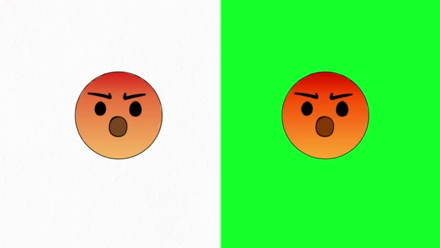 angry emoji video - anger stock videos & royalty-free footage