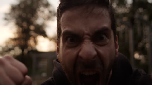angry man - displeased stock videos and b-roll footage