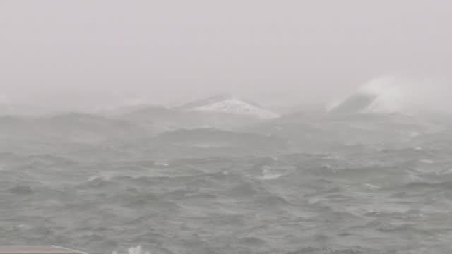 angry sea, okayama, japan - pacific ocean stock videos & royalty-free footage
