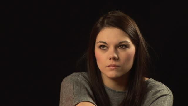 Angry thoughts - Girl, HD & PAL