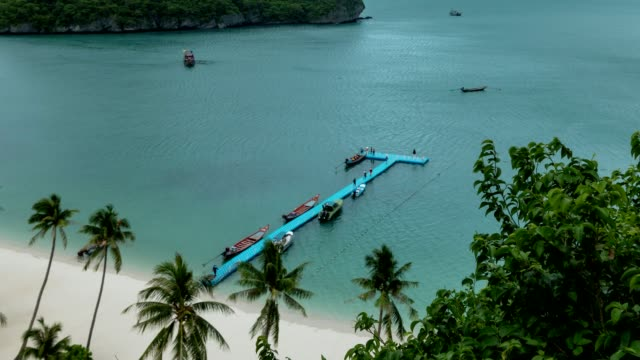 angthong islands, koh samui, suratthani, thailand - insel ko samui stock-videos und b-roll-filmmaterial