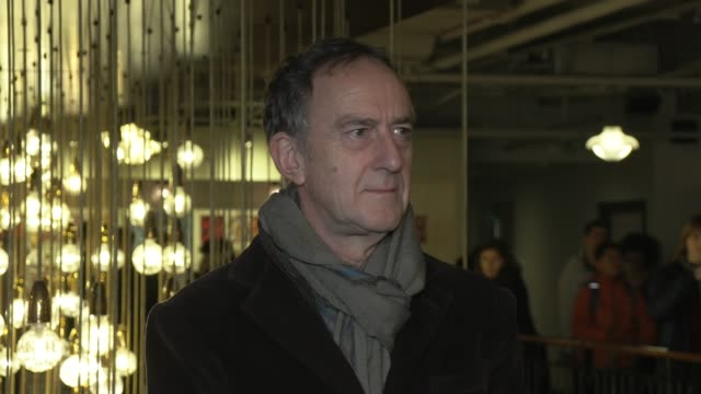 angus deayton at picturehouse central on february 17, 2020 in london, england. - angus deayton stock videos & royalty-free footage