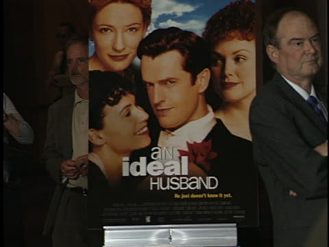 angus mcfadden at the an ideal husband premiere at dga. - male likeness stock videos & royalty-free footage