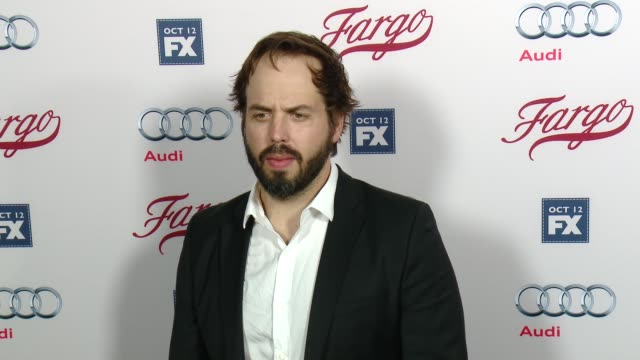 angus sampson at fx's fargo los angeles premiere at arclight cinemas on october 07 2015 in hollywood california - arclight cinemas hollywood stock videos & royalty-free footage