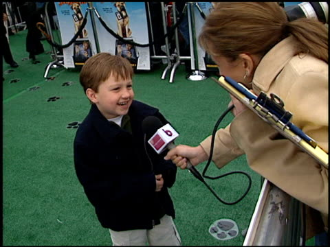 Angus T Jones at the See Spot Run Premiere at Grauman's Chinese Theatre in Hollywood California on February 25 2001
