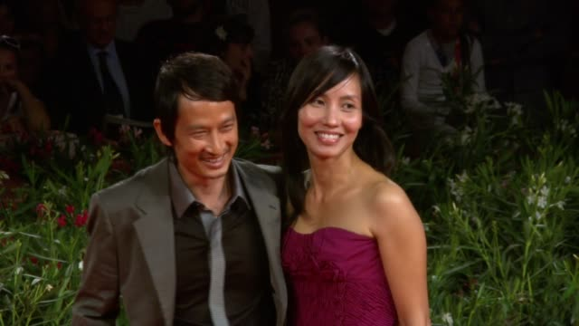 anh hung tran tran nu yen khe at the norwegian wood premiere 67th venice film festival at venice - nu stock videos and b-roll footage