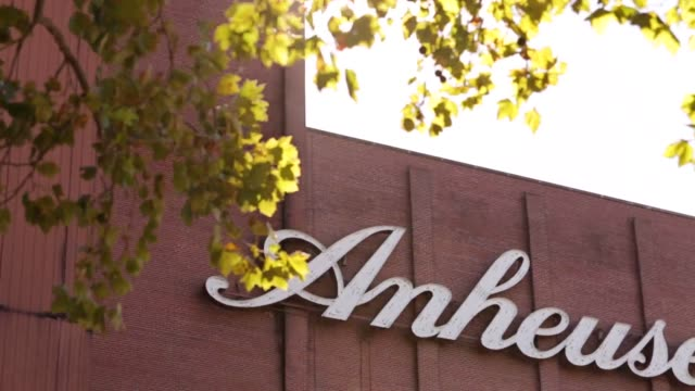 anheuser busch completes its 103 billion dollar deal for sabmiller allowing it to control over a third of the beer market broll of headquarters - anheuser busch inbev stock videos and b-roll footage