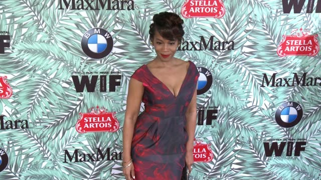 anika noni rose at 10th annual women in film pre-oscar cocktail party presented by max mara and bmw at nightingale plaza on february 24, 2017 in los... - nightingale stock videos & royalty-free footage