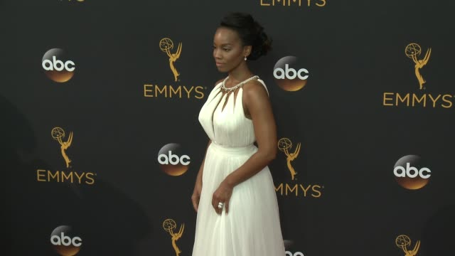 Anika Noni Rose at the 68th Annual Primetime Emmy Awards Arrivals at Microsoft Theater on September 18 2016 in Los Angeles California