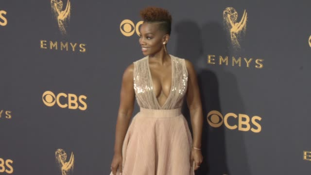 Anika Noni Rose at the 69th Annual Primetime Emmy Awards at Microsoft Theater on September 17 2017 in Los Angeles California