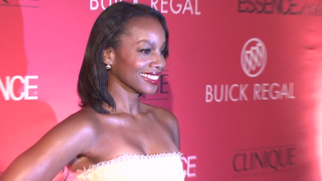 Anika Noni Rose at the Essence Magazine 40th Anniversary Fierce Fabulous Awards Luncheon at New York NY