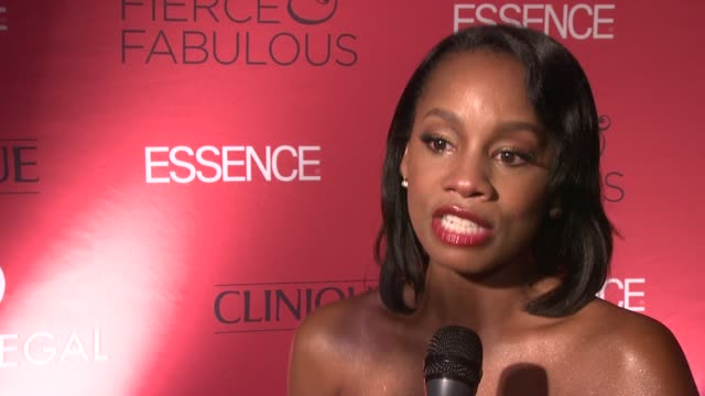 Anika Noni Rose discusses the Tigerettes and the legacy of education that her grandmother left behind at the Essence Magazine 40th Anniversary Fierce...