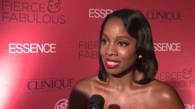 Anika Noni Rose starts to cry when talking about her own fierce and fabulous woman her grandmother who means so much to her and is the ultimate FF...