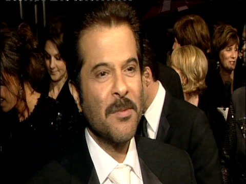Anil Kapoor talks about Slumdog Millionaire at British Academy of Film and Television Arts Awards London 8 February 2009
