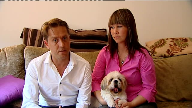 Berkshire couple forced to leave their dog in quarantine in France Matt Roberts interview SOT