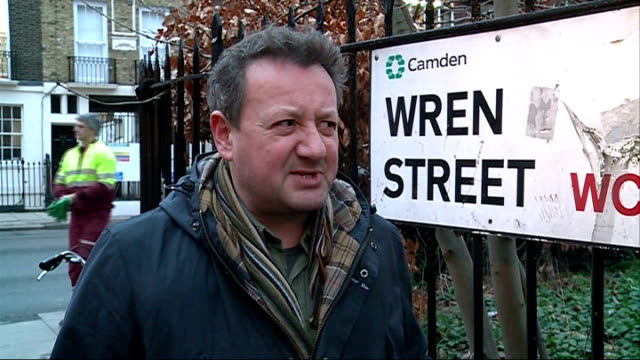 stockvideo's en b-roll-footage met cold weather aids rspb 'big garden birdwatch' initiative london webb interview sot - initiatief
