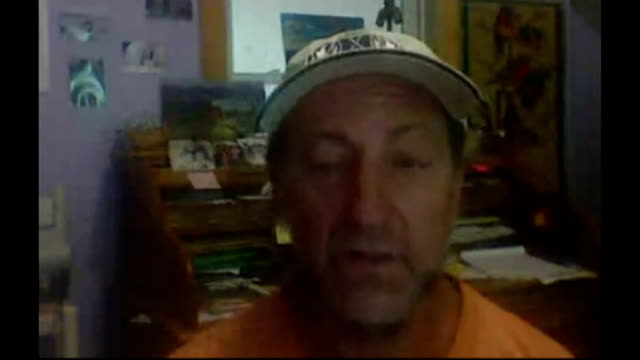 vídeos de stock e filmes b-roll de humpback whale 'thanks' rescuers after being freed from nets north carolina int michael fishback skype interview sot - skype