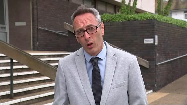 man jailed for spate of cat killings in brighton area; england: east sussex: brighton: hove crown court: ext reporter to camera - crime and murder stock videos & royalty-free footage