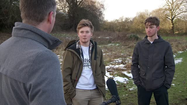 staffordshire teenagers on a mission to save rare frogs, turtles and lizards from extinction; england: staffordshire: celtic reptile & amphibian: ext... - storage tank stock videos & royalty-free footage