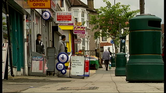 venomous snake on loose in ilford; belgrave road: row of terraced houses int close up of ayub's hands preparing a cup of coffee amer ayub interview... - ilford stock videos & royalty-free footage