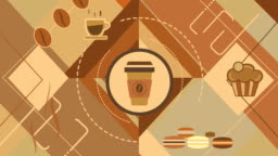 Animated Background on Coffee