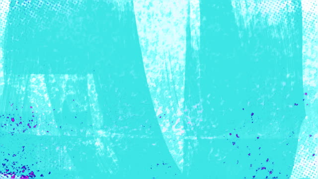 stockvideo's en b-roll-footage met animated blue and pink grunge with energetic brush strokes - turquoise