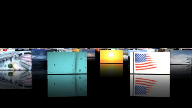 vídeos de stock e filmes b-roll de câmara em chromakey animados - painel de cristal líquido