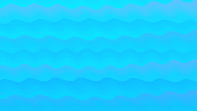 vídeos de stock e filmes b-roll de animated cartoon wave background - rabisco padrão