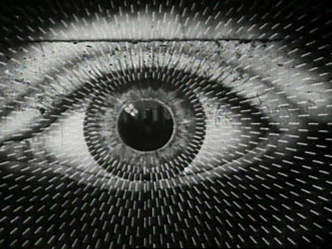 1941- animated diagram of light rays hitting the eye - biomedical animation stock videos & royalty-free footage