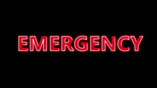 4k animerad akutsjukhus tecken, röd skylt, ambulans medical care room entré lager video - kors religiös symbol bildbanksvideor och videomaterial från bakom kulisserna